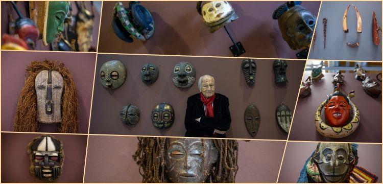 Hıfzı Topuz, İnancın Temelindeki Sanat: Büyülü Afrika Sergisi'ni anlattı