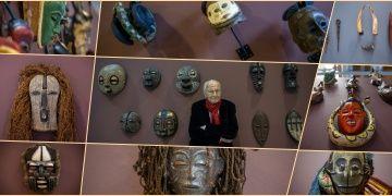 Hıfzı Topuz, İnancın Temelindeki Sanat: Büyülü Afrika Sergisini anlattı