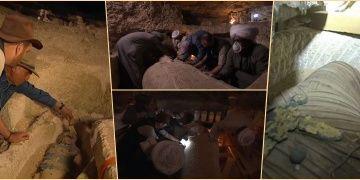 Mumya lahitinin açılışı Discovery Channelda canlı yayınlandı