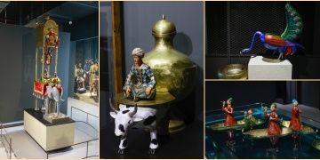 Cezerinin Olağanüstü Makineleri sergisi bilimi masallarla sevdiriyor