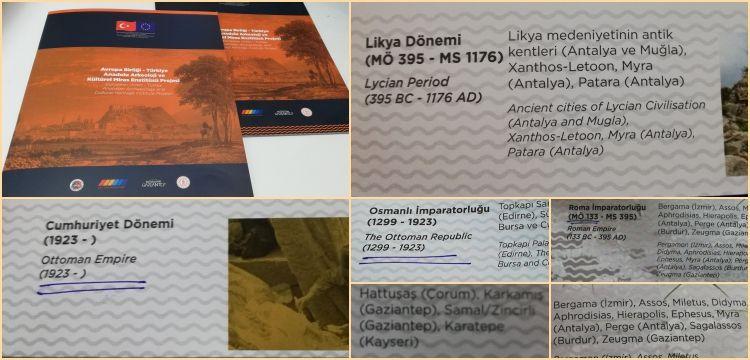 Anadolu Arkeoloji Enstitüsü'nün kronolojisi fuara damgasını vurdu haberimize cevap