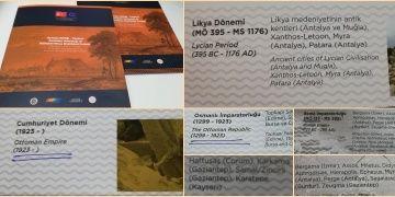 Anadolu Arkeoloji Enstitüsünün kronolojisi fuara damgasını vurdu haberimize cevap