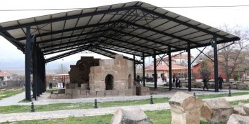 Ancient Constantine-Helena church was restored in Turkey
