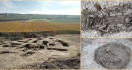 İngilterede su yolu inşaatında tuhaf gömüler bulunan mezarlık keşfedildi