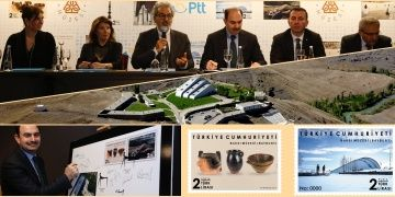Baksı Müzesi konulu posta pullarının tanıtımı yapıldı