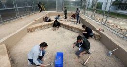 Hacettepe Üniversitesinin eğitim amaçlı arkeolojik kazı alanı hizmete girdi