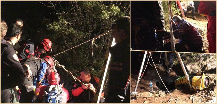 İznik'te kazdıkları kuyuda mahsur kalan defineciler için alarm verildi
