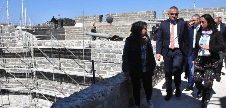 Bakan Ersoy: Bodrum Kalesi'ni 18 Mayısta açmaya hazırlanıyoruz