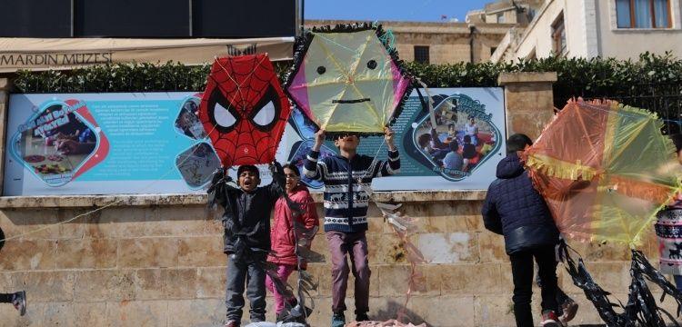 Mardin'de 3. Uluslararası Uçurtma Festivali başladı