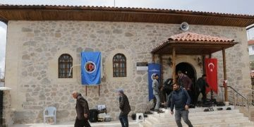 Kalemişleri barındıran tarihi Tekkeyenicesi köyü camisi restore edildi