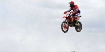 Ulubey Kanyonu Ekstrem Festivalinde motosiklet gösterisi yapıldı