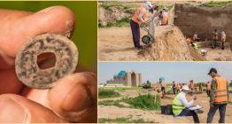 Kazakistandaki kazılarda Türgişlere ait 1300 yıllık sikke bulundu