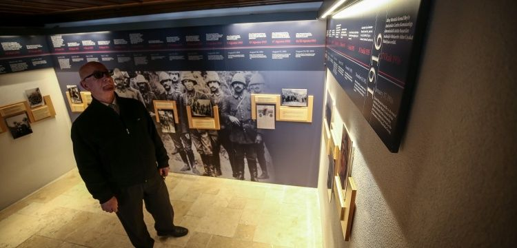 Atatürk'ün Eceabat'taki karargahı müze olarak hizmet veriyor