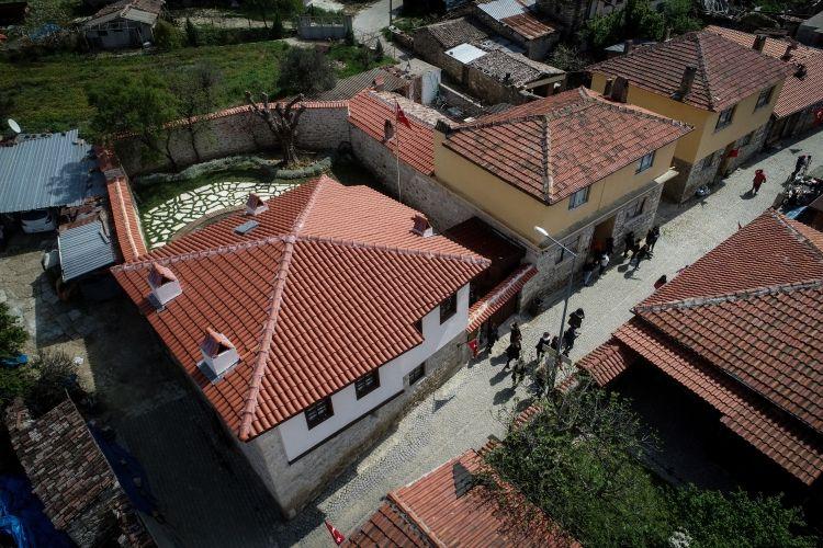 Çanakkale'nin Eceabat ilçesi Bigalı köyündeki Atatürk Evi Müzesi