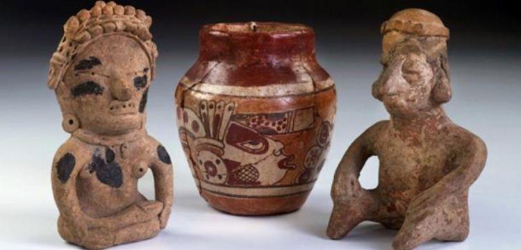 Arkeologlar Guatemala'da bilinen en büyük Maya figürin atölyesini keşfetti