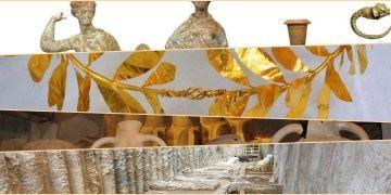 Selanikte metro inşaatından çıkan arkeolojik hazineler göz kamaştırdı