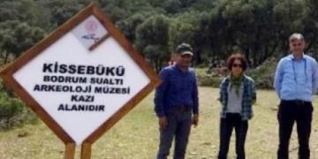Bodrum Sualtı Arkeoloji Müzesi Müdürlüğü Kissebüküne kazılara başladı