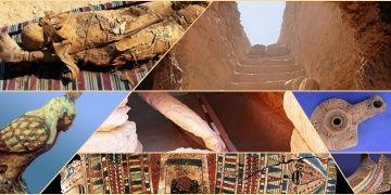 Mısırda gizemlerle dolu 35 mumyalı yeni mezar odası keşfedildi