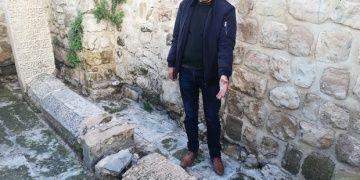 Mardinde Zinciriye Medresesinin yanındaki tarihi mezar tahrip edildi
