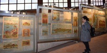 Asırlık Kentlerin Gizli Yüzleri resim sergisi açıldı