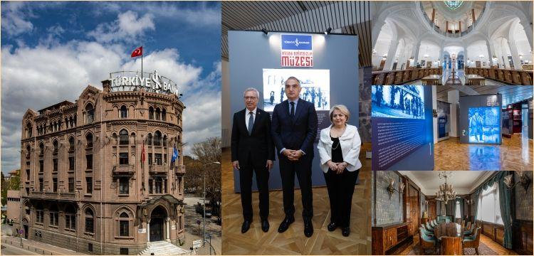 Türkiye İş Bankası'nın Ulus binası İktisadi Bağımsızlık Müzesi oldu