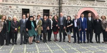 Kazakistan Milli Müzecileri Türkiyenin müzelerini inceledi