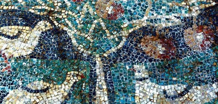 Amasya'nın elma figürlü 1800 yıllık mozaiği müzede sergilenecek