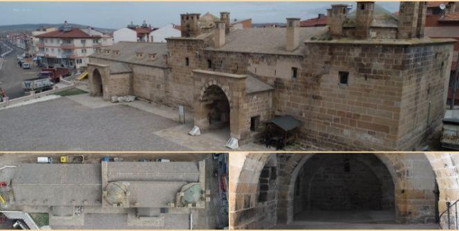 Afyonkarahisardaki Osmanlı eseri Döğer Kervansarayı restore edilecek