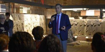 Öğretmenler Anadolu Medeniyetleri Müzesinin arkeolojik ikliminde eğitildi