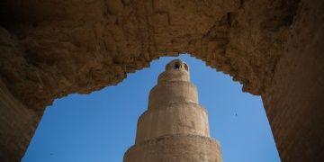 Irakın Abbasi mirası Melviye minaresi yıkılma riski taşıyor
