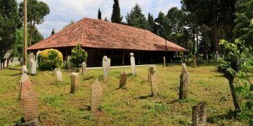 8 yüzyıllık çivisiz Göğceli Camisinde mukabele geleneği asırlardır yaşatılıyor