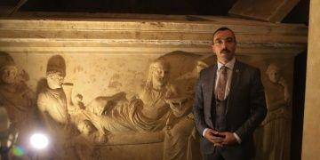Hekatomnosun Anıt Mezarı özel iklimlendirme sistemiyle korunuyor