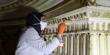 Milli Sarayların ve barındırdığı 95 bin objenin bakım ve temizliği titizlik istiyor