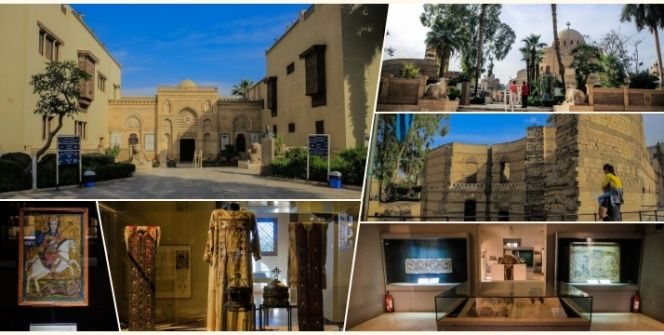 Mısırın eski Kahire bölgesindeki Babil Kalesi ücretsiz gezilebiliyor