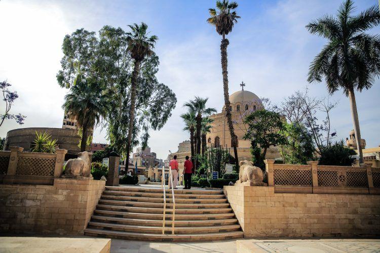 Mısır'ın eski Kahire bölgesindeki Babil Kalesi ücretsiz gezilebiliyor