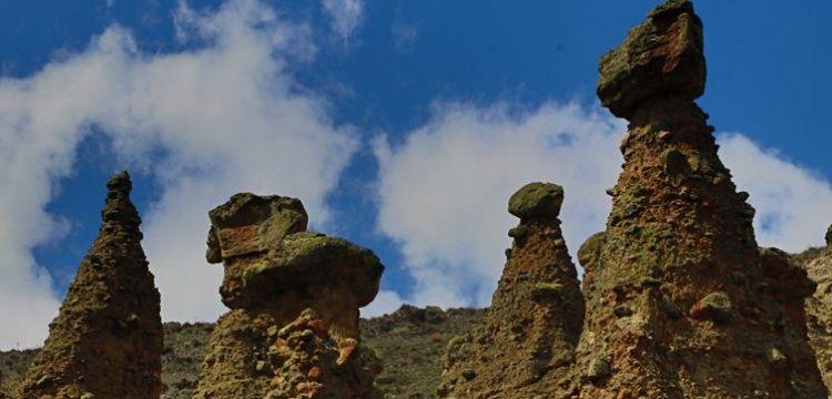 Çankırı'nın Peribacaları turistlerin kendilerini keşfetmesini bekliyor