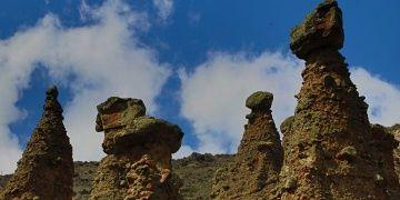Çankırının Peribacaları turistlerin kendilerini keşfetmesini bekliyor