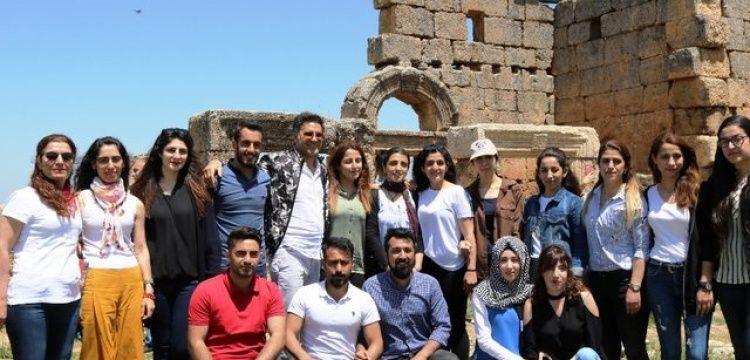 Ünlü Sanatçılar ilk kez duydukları Zerzevan Kalesi'ne hayran kaldılar
