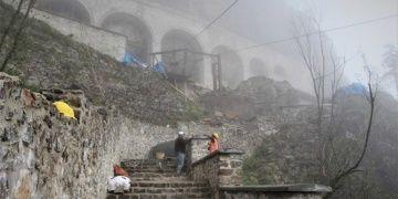 44 aydır restore edilen Sümela Manastırının açılışı bir hafta ertelendi