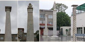 Okmeydanındaki tarihi Osmanlı Menzil Taşları Okçular Vakfında toplandı