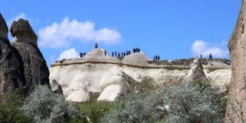 Kapadokya 2019 yılının ilk 4 ayında turist rekoru kırdı