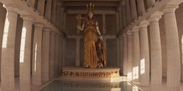 Parthenonda Athena Parthenosun bulunduğu cella yeniden inşa edilecek