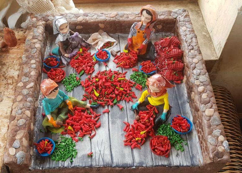 Şeker Sanatı Müzesi'ndeki arkeolojik eserler çok şeker!