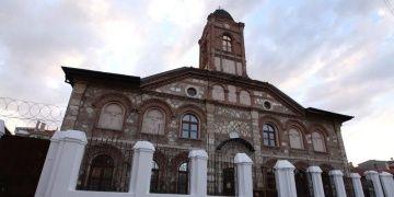 Edirnede, Bulgar Ortodoks Kilisesinin kubbe restorasyonu tamamlandı