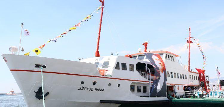 Zübeyde Hanım Müze ve Eğitim Gemisi Anneler Günü'nde açıldı