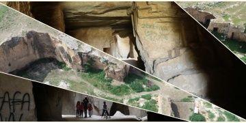 Şanlıurfanın antik taş ocakları Bazda Mağaraları