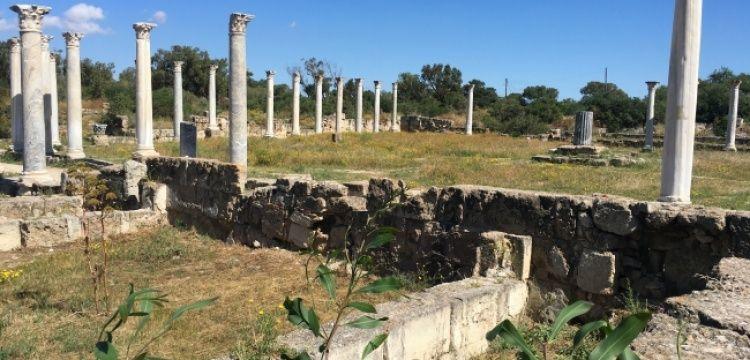 Kıbrıs'taki Salamis Antik Kenti'nde yapılan arkeoloji kazısının hikayesi