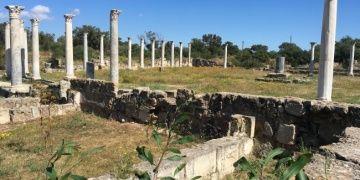 Kıbrıstaki Salamis Antik Kentinde yapılan arkeoloji kazısının hikayesi