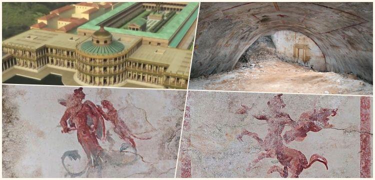 Arkeologlar Neron'un ünlü sarayında gizli bir oda keşfettiler
