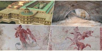 Arkeologlar Neronun ünlü sarayında gizli bir oda keşfettiler